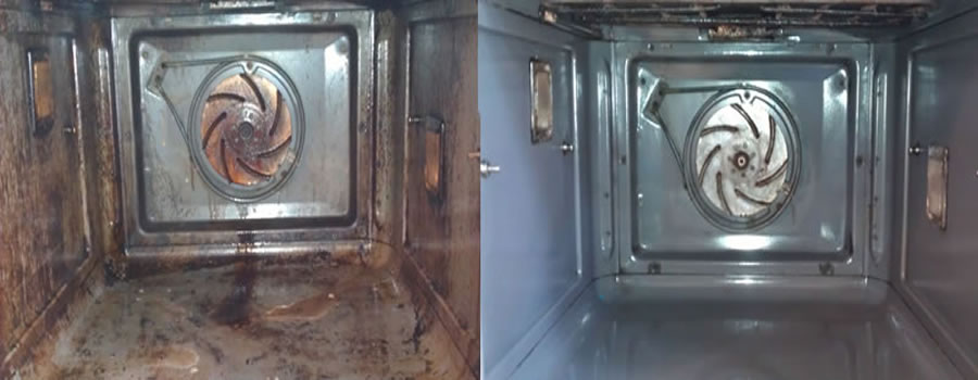 Oven Cleaning prices from £55